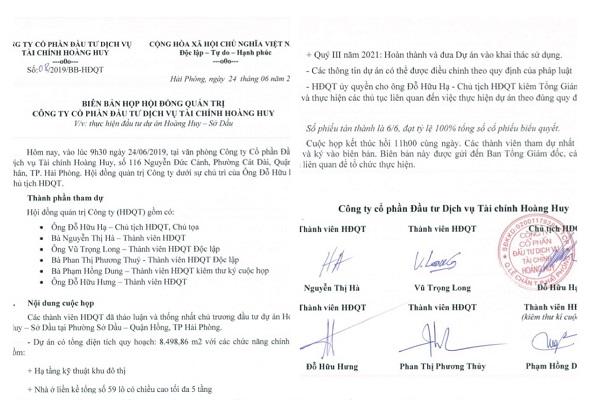 Dự án Hoàng Huy Sở Dầu Hải Phòng - Thông tin mới update