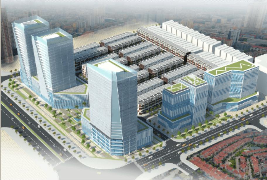 Hình ảnh phối cảnh dự án biệt thự Hoàng Huy Mall Hải Phòng
