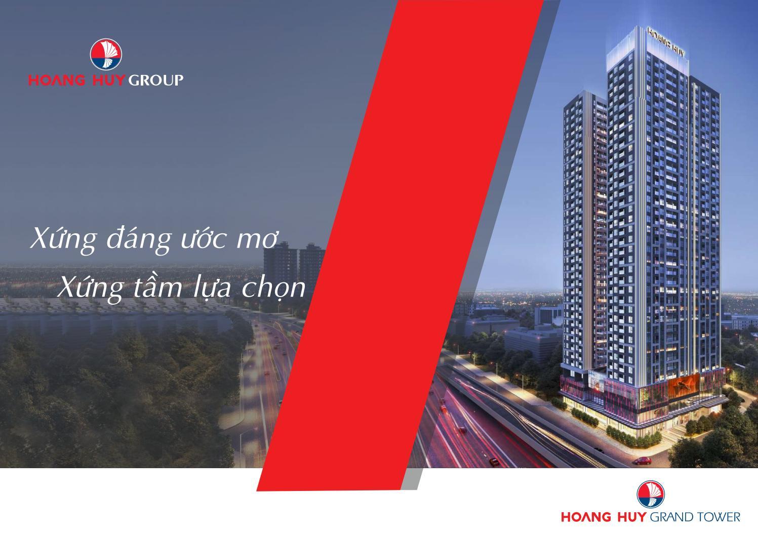 Dự án Chung cư Hoàng Huy Grand Tower