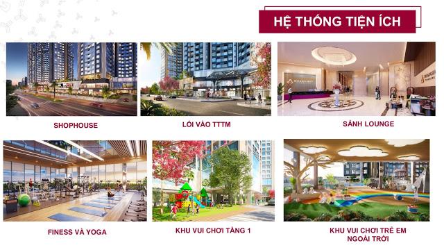 Hệ thống tiện ích đa dạng Chung cư Hoàng Huy Commerce