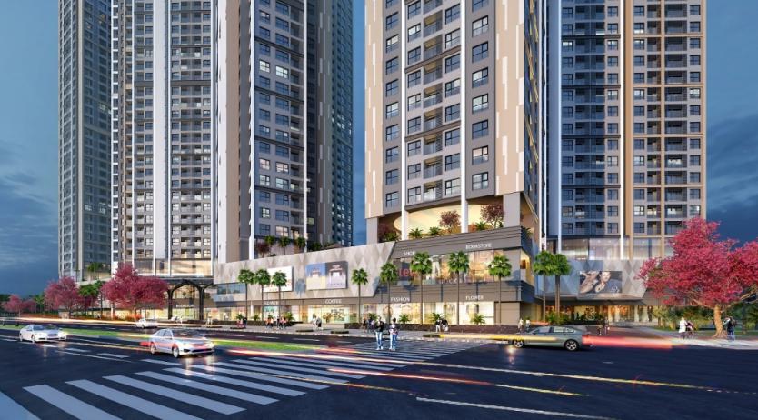 Trung tâm thương mại Dự án Hoàng Huy Commerce